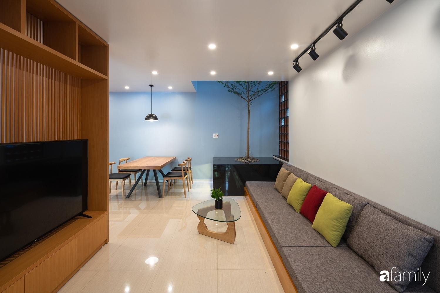 Ngôi nhà phố lấy cảm hứng từ thác nước mang đến cuộc sống an lành, thư thái cho gia đình 3 thế hệ ở Hải Dương - Ảnh 9.