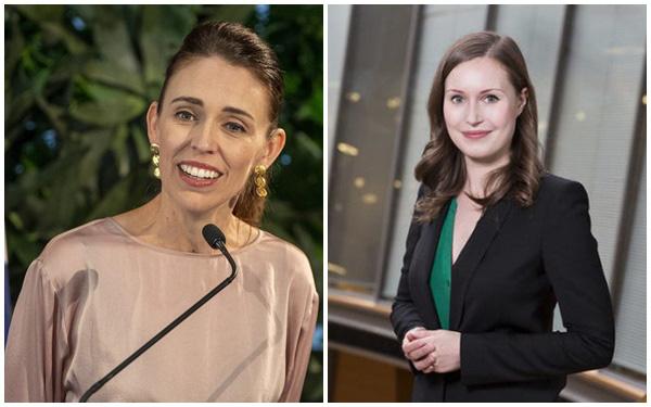 Chân dung 2 nữ Thủ tướng xinh đẹp tiên phong ngăn chặn Covid-19 đang được quốc tế ca ngợi