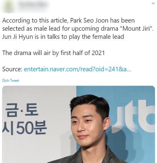 """Park Seo Joon """"bỏ bom"""" dự án phim đóng cùng """"mợ chảnh"""" Jun Ji Hyun, Joo Ji Hoon trở thành kẻ thế vai? - Ảnh 3."""