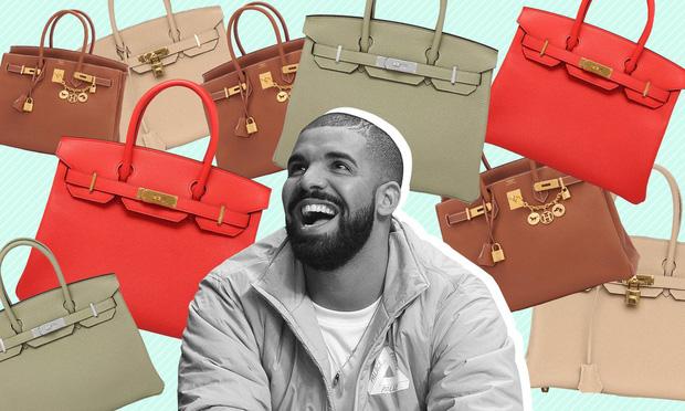 """Đang """"ế sưng"""", Drake vẫn hì hục săn túi Birkin cho vợ tương lai, thế giới cần lắm những ông chồng kiểu mẫu như anh! - Ảnh 1."""