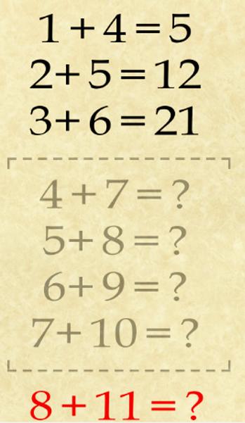 5 bài toán chỉ người có IQ cao mới giải được, bạn có thể giải thành công mấy bài? - Ảnh 3.