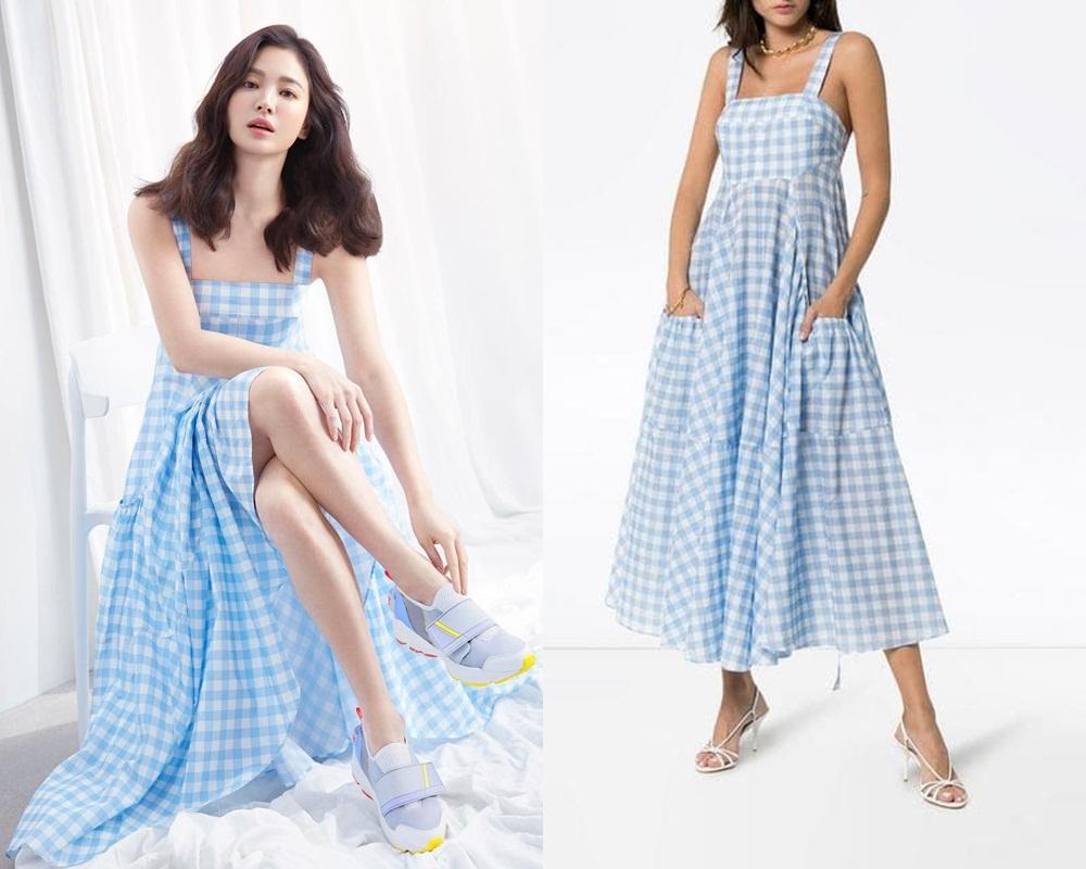 """Hậu ly hôn ngày càng hở bạo, Song Hye Kyo chẳng ngại """"cắt xén"""" váy áo, khoe body sexy hơn cả mẫu hãng - Ảnh 4."""