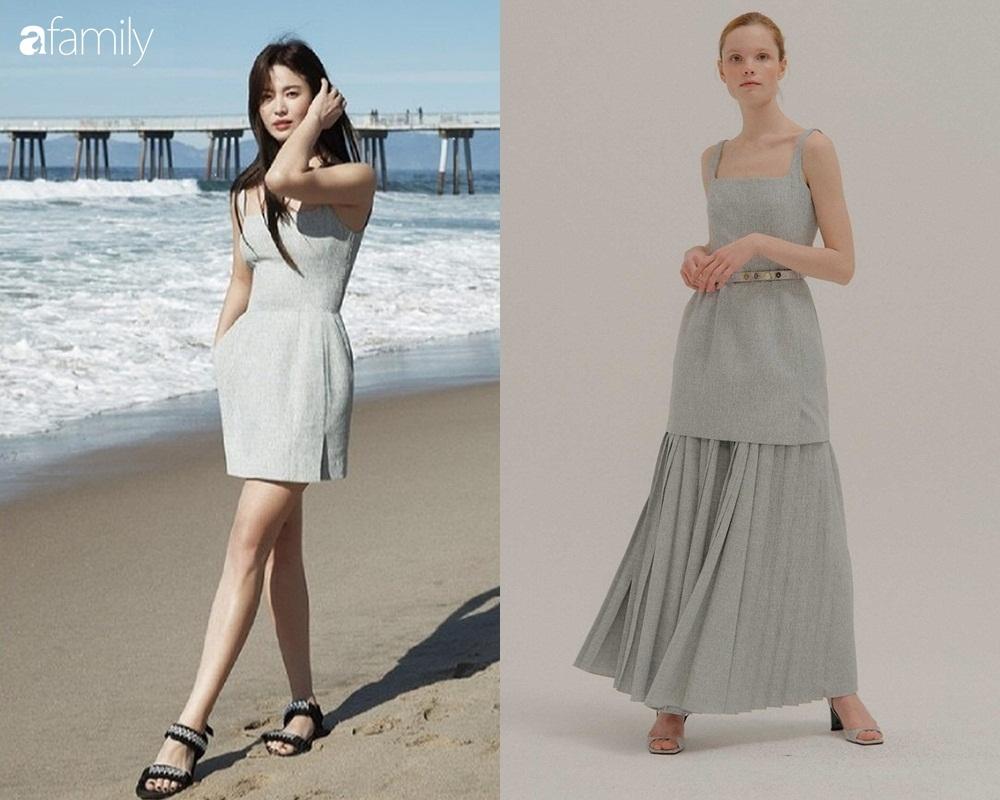 """Hậu ly hôn ngày càng hở bạo, Song Hye Kyo chẳng ngại """"cắt xén"""" váy áo, khoe body sexy hơn cả mẫu hãng - Ảnh 1."""