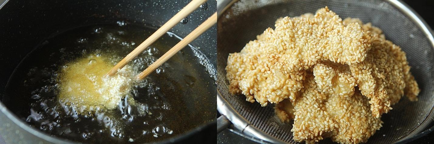 Bé lười ăn cá mẹ làm ngay cá tẩm vừng chiên giòn cho bé ăn ngon - Ảnh 3.