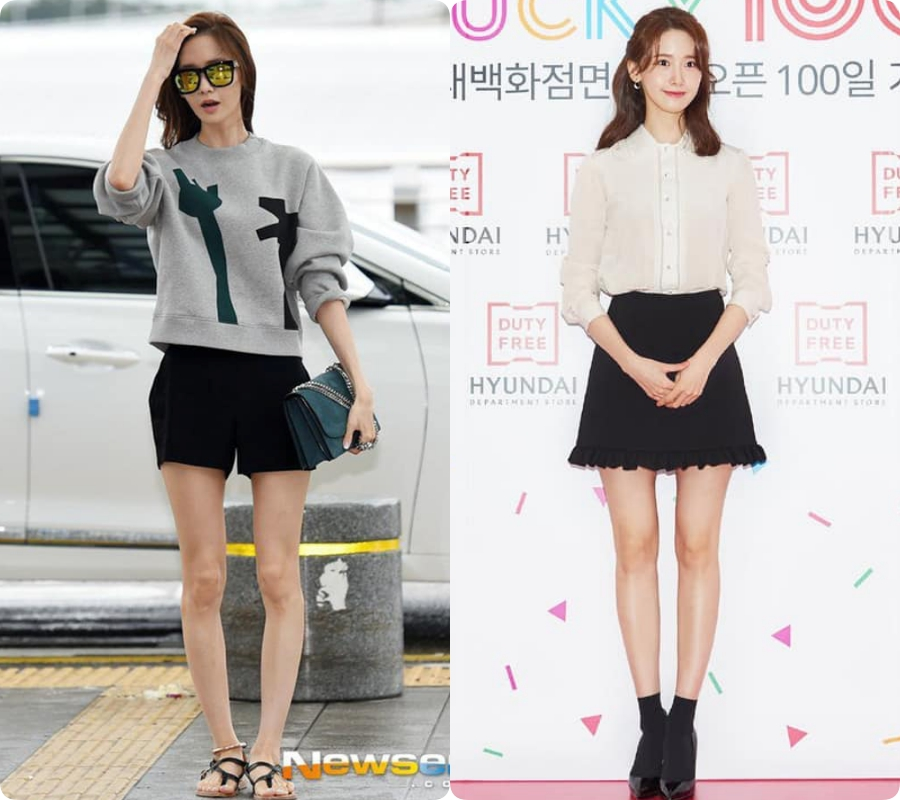 Yoona từng biến chân vòng kiềng thành thon dài thẳng tắp  - Ảnh 3.