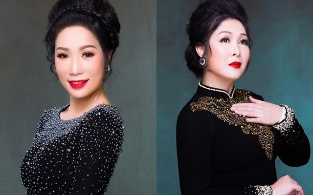 """NSƯT Trịnh Kim Chi có động thái đầu tiên sau khi bị đàn em công khai mỉa mai nhưng """"gắt"""" bất ngờ lại là phản ứng của NSND Hồng Vân"""