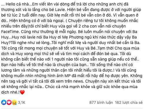 """Phùng Ngọc Huy lên kế hoạch về Việt Nam đón con gái, thắt lòng khi Lavie hỏi: """"Mẹ Phương ngủ khi nào thức dậy vậy ba"""" - Ảnh 1."""