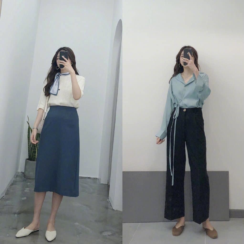 """16 set đồ nàng nào cũng mong được diện tới công sở ngay khi hết dịch: Style nữ chính phim Hàn hay chuẩn """"thư ký Kim"""" đều đủ cả - Ảnh 4."""