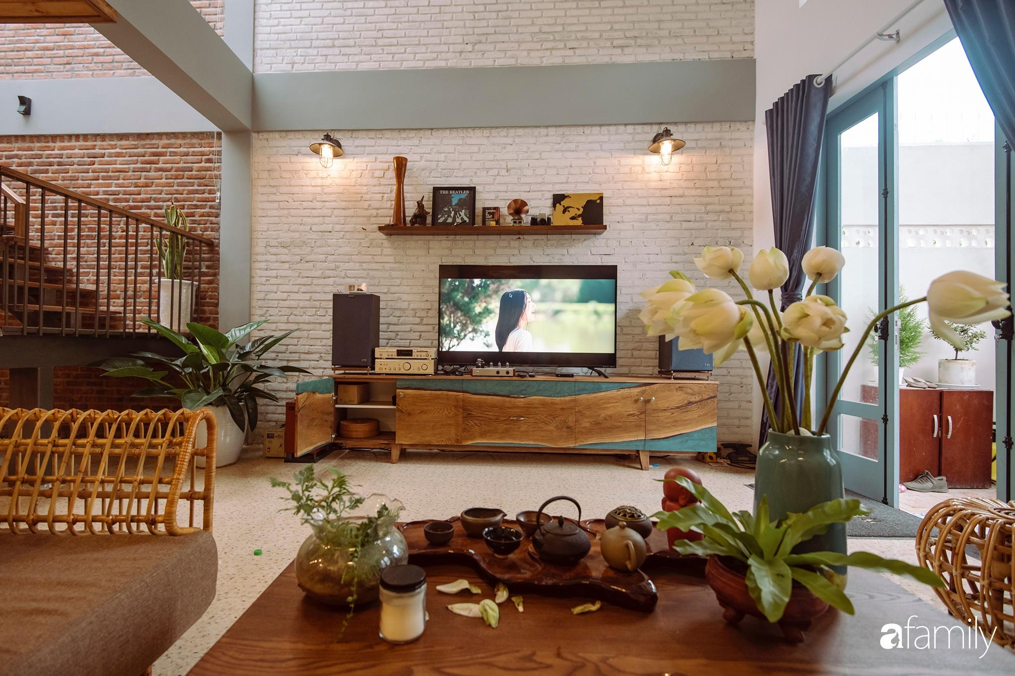Ngôi nhà 80m² được xây dựng từ những ký ức tuổi thơ yên bình ở thành phố biển Đà Nẵng - Ảnh 7.