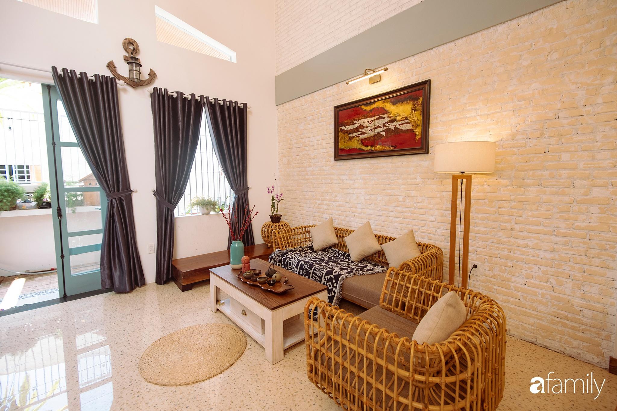 Ngôi nhà 80m² được xây dựng từ những ký ức tuổi thơ yên bình ở thành phố biển Đà Nẵng - Ảnh 6.