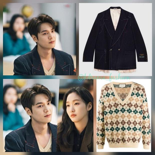Xứng danh quân vương, Lee Min Ho tất nhiên diện nhiều đồ hiệu nhất phim, Kim Go Eun lại bị nữ phụ lấn lướt khoản váy áo - Ảnh 4.