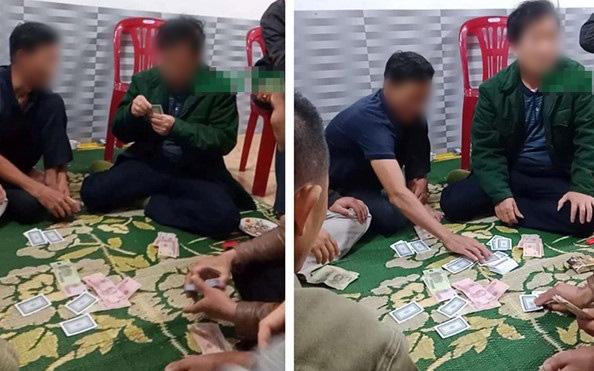 Vụ Chủ tịch xã ngồi trên chiếu bạc ở Hà Tĩnh: Đình chỉ công tác, triệu tập Chủ tịch xã