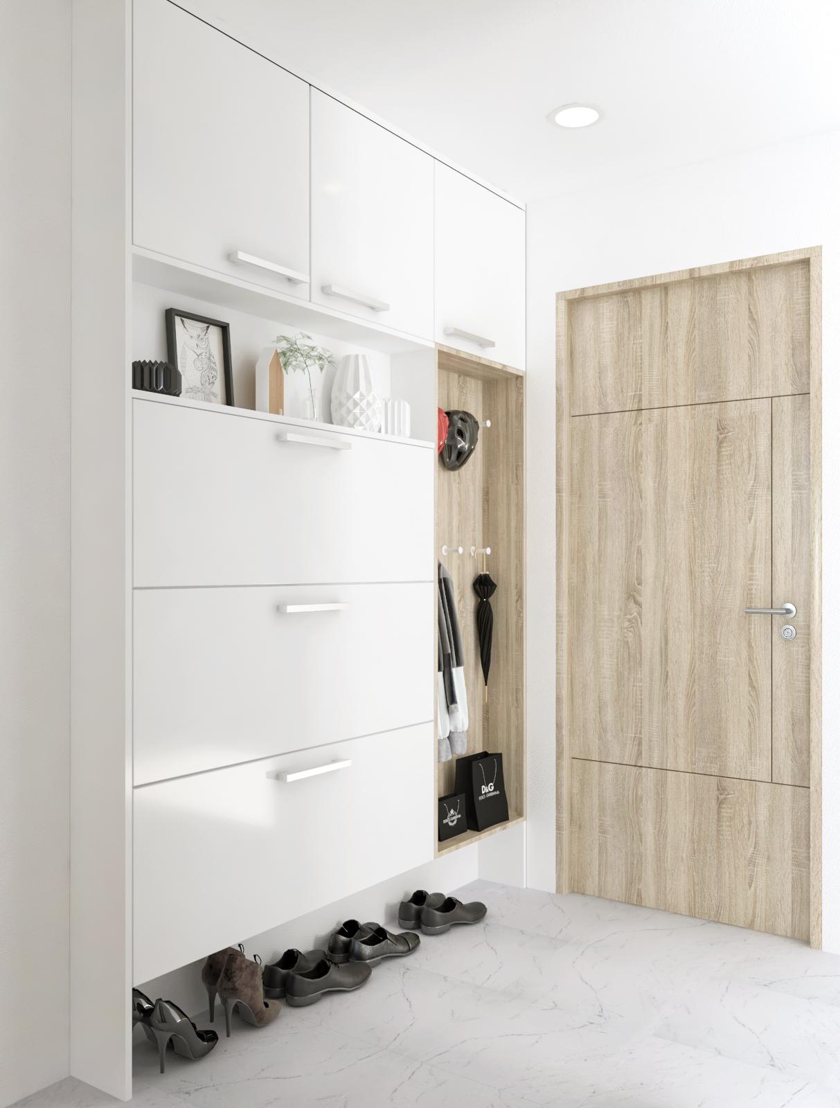 Tư vấn thiết kế cải tạo căn hộ tập thể 50m² với tổng chi phí 180 triệu đồng - Ảnh 4.