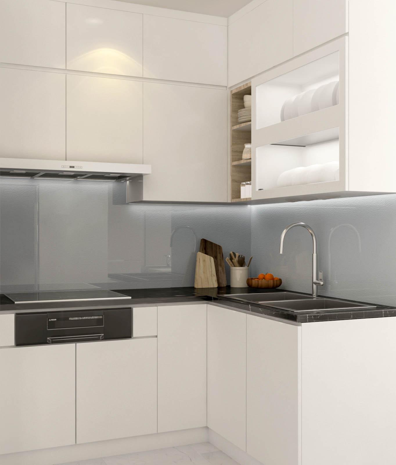 Tư vấn thiết kế cải tạo căn hộ tập thể 50m² với tổng chi phí 180 triệu đồng - Ảnh 5.