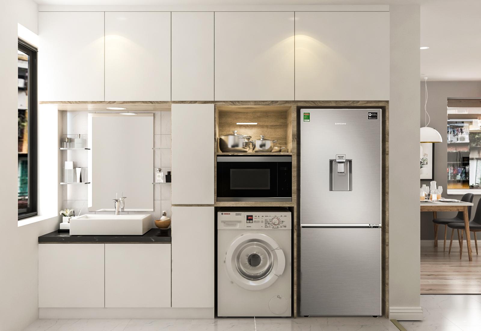 Tư vấn thiết kế cải tạo căn hộ tập thể 50m² với tổng chi phí 180 triệu đồng - Ảnh 6.