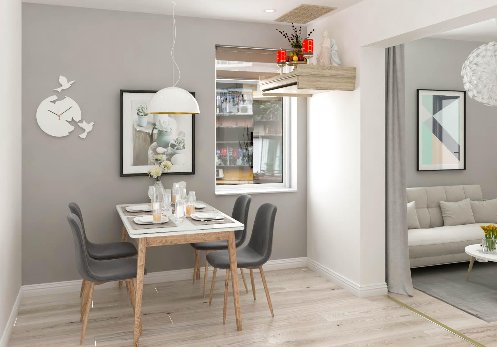 Tư vấn thiết kế cải tạo căn hộ tập thể 50m² với tổng chi phí 180 triệu đồng - Ảnh 8.