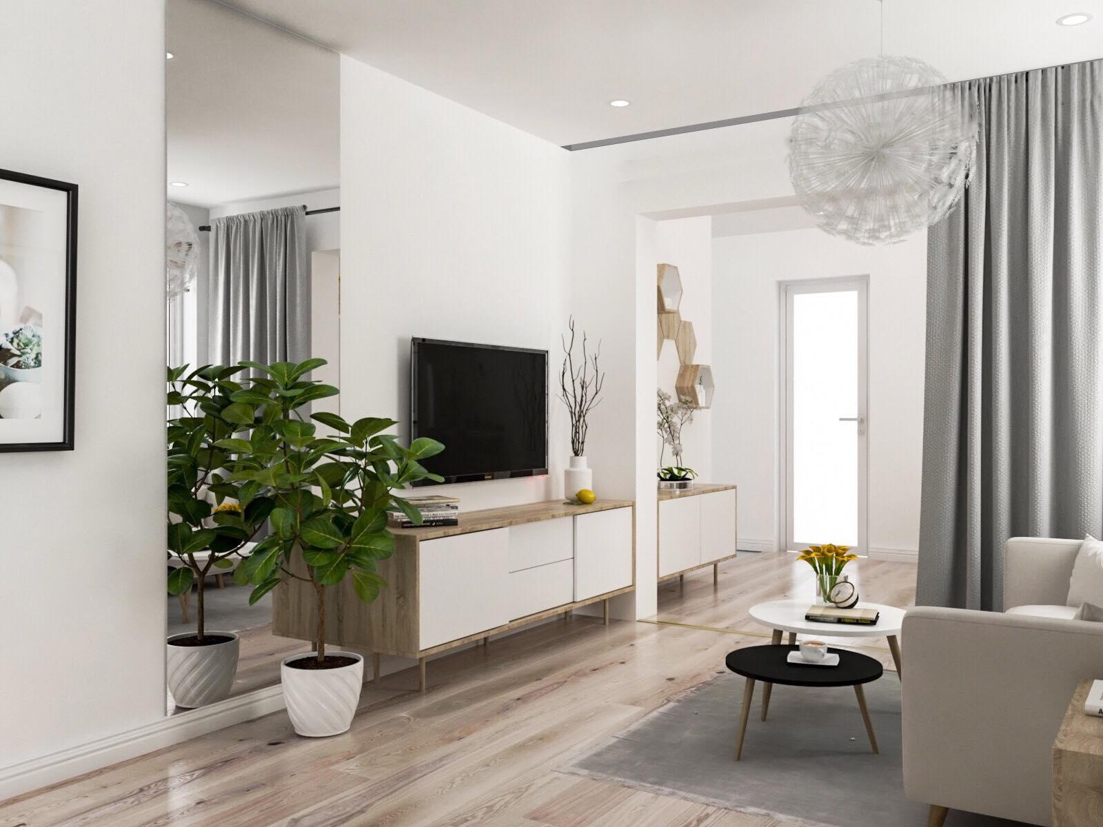 Tư vấn thiết kế cải tạo căn hộ tập thể 50m² với tổng chi phí 180 triệu đồng - Ảnh 9.