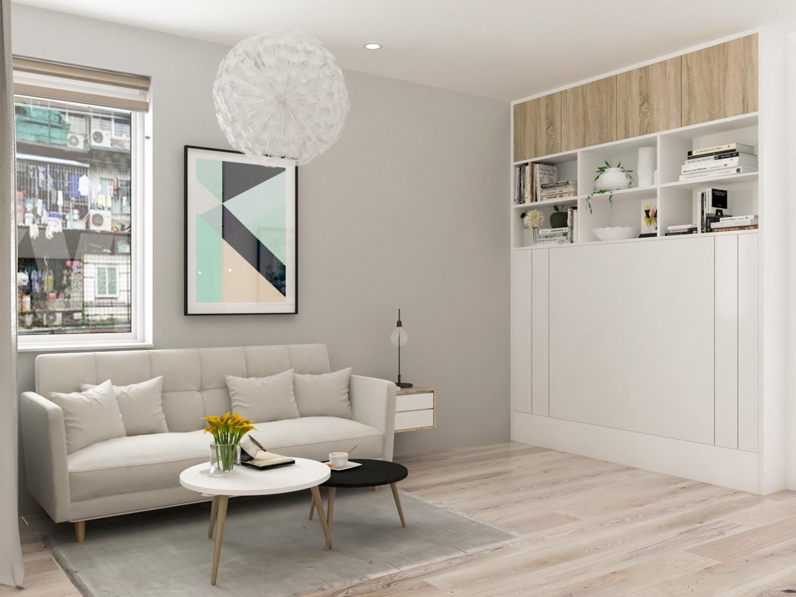 Tư vấn thiết kế cải tạo căn hộ tập thể 50m² với tổng chi phí 180 triệu đồng - Ảnh 10.