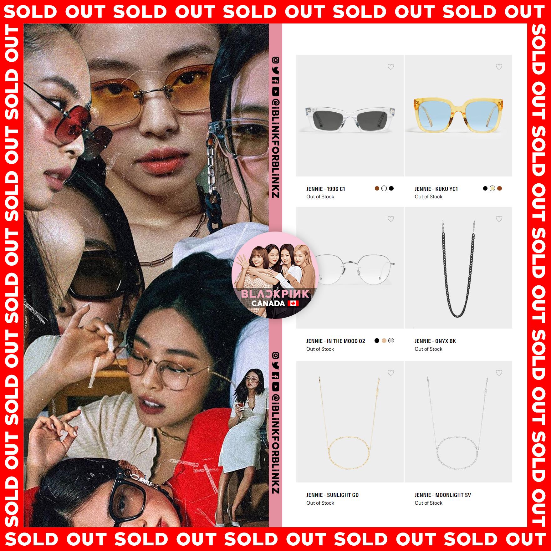"""Hãng kính """"choáng váng"""" vì Jennie: Hàng vừa mở bán đã đánh sập web hãng, thiết kế sold out chỉ trong 1 nốt nhạc - Ảnh 3."""