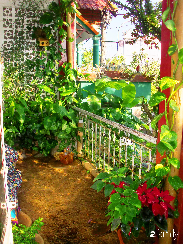 Ở nhà nghỉ dịch, chàng trai xứ Huế thảnh thơi bên ban công tự thiết kế với tiểu cảnh có hoa có cá phong cách nhiệt đới - Ảnh 2.