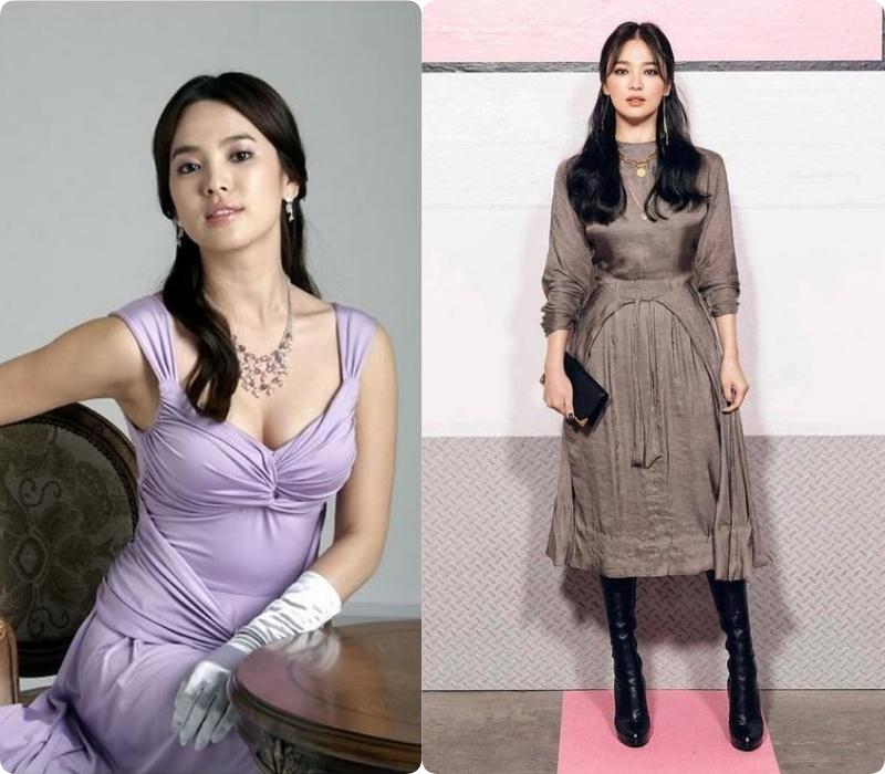 Chuyện Song Hye Kyo giảm cân: Từng nặng đến 70kg rồi giảm tới 17kg, bao nhiêu năm dáng vẫn thon gọn nhờ tập trung ăn loại thực phẩm chỉ 5 nghìn/ miếng - Ảnh 4.