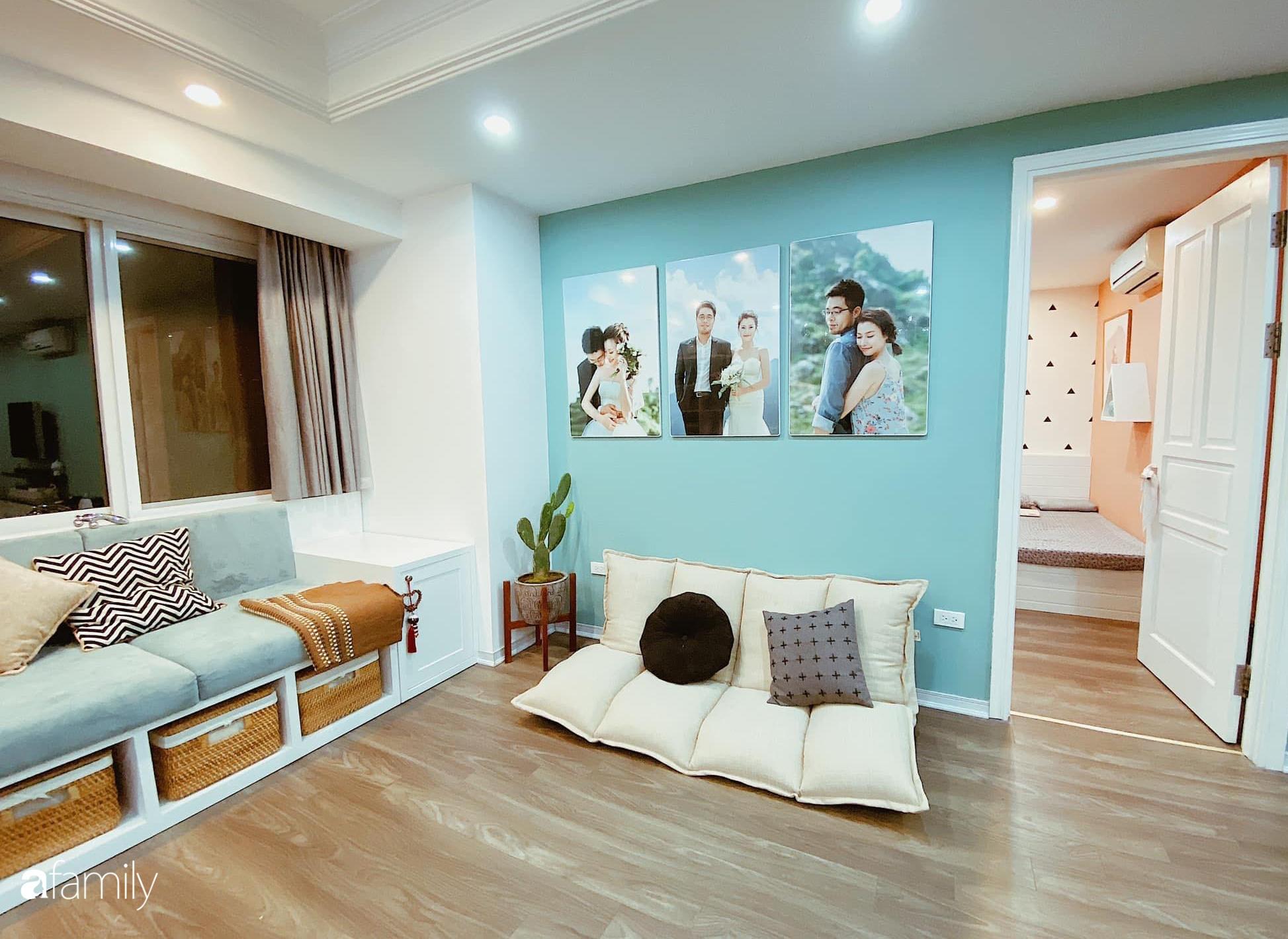 Căn hộ 145m² được décor ấn tượng với điểm nhấn màu xanh ngọc cùng tranh treo tường từ người phụ nữ yêu gia đình ở Hà Nội - Ảnh 8.