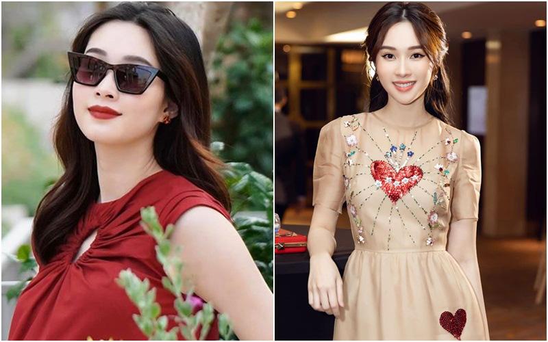 """Mãi mới tiết lộ chuyện bầu bí, trước đó Hoa hậu Thu Thảo đã """"chơi chiêu"""" khi ăn vận và chụp ảnh khiến chẳng ai mảy may nghi ngờ"""