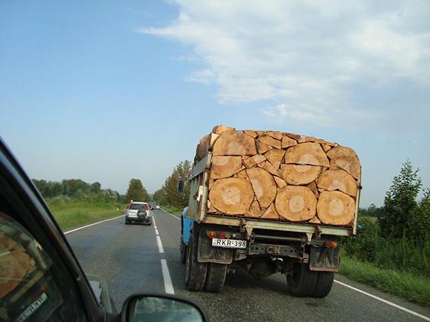 Tài xế xe tải 100% là người theo chủ nghĩa hoàn hảo!