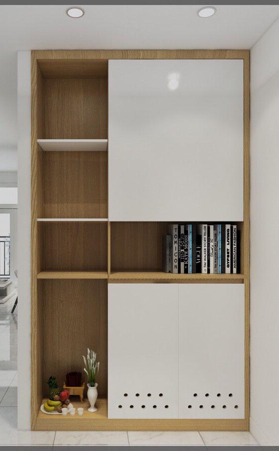 Tư vấn thiết kế nội thất căn hộ chung cư theo dạng studio có diện tích 44m² để cho thuê với chi phí 42 triệu - Ảnh 3.