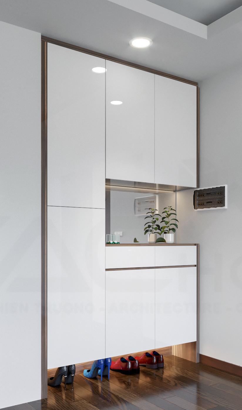Tư vấn thiết kế nội thất căn hộ chung cư theo dạng studio có diện tích 44m² để cho thuê với chi phí 42 triệu - Ảnh 4.