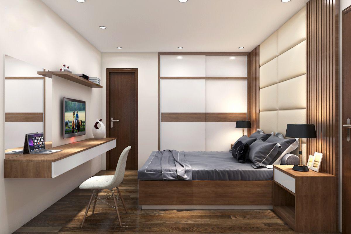 Tư vấn thiết kế nội thất căn hộ chung cư theo dạng studio có diện tích 44m² để cho thuê với chi phí 42 triệu - Ảnh 9.