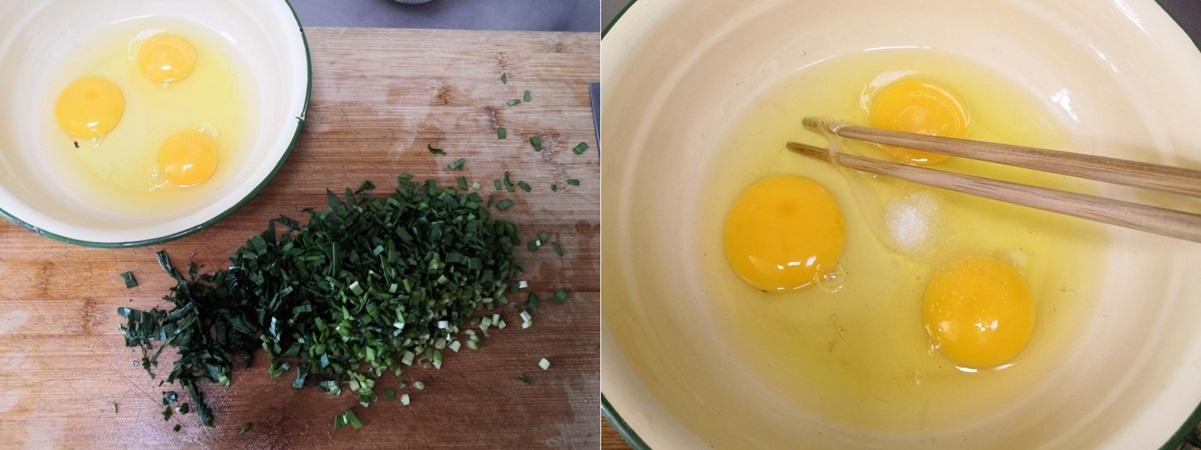 10 phút làm bánh trứng chiên ăn sáng ngon hết nấc - Ảnh 1.