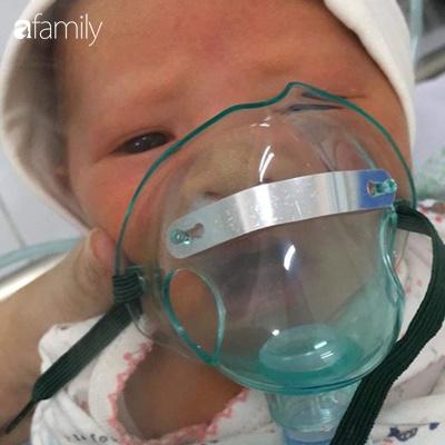 """Con mới 7 ngày tuổi đã nhập viện vì nhiễm virus RSV, mẹ Hà Nội khuyên các mẹ bỉm sữa """"Hãy bảo vệ chính con mình"""" - Ảnh 1."""