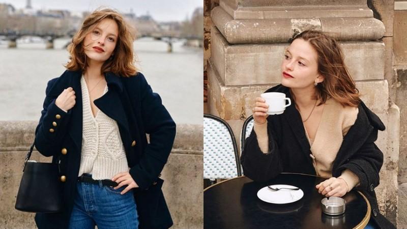 Đừng vì lùn mà tự ti, quý cô người Pháp chỉ nhỉnh hơn 1m50 vẫn mặc đẹp quên xầu nhờ những típ cực đơn giản - Ảnh 1.
