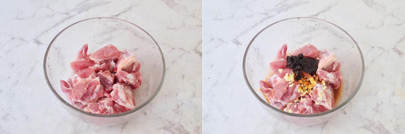Sườn hấp bí ngọt mềm cực ngon, đậm đà mà không ngán ngấy - Ảnh 2.