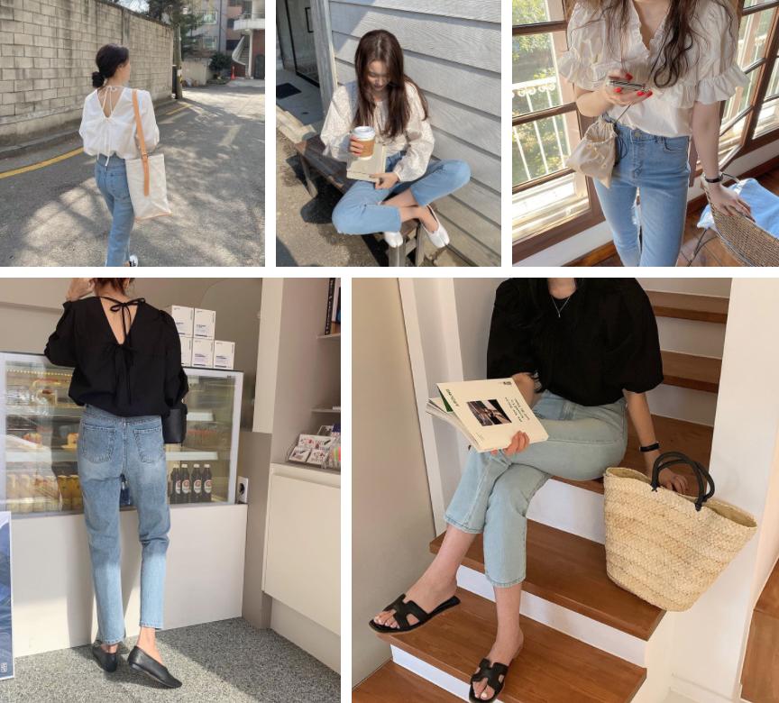 Dành cho hội ngại mix đồ: 4 kiểu áo đơn giản nhưng diện cùng quần jeans xinh đừng hỏi, mặc đẹp chẳng cần cao siêu là đây - Ảnh 1.