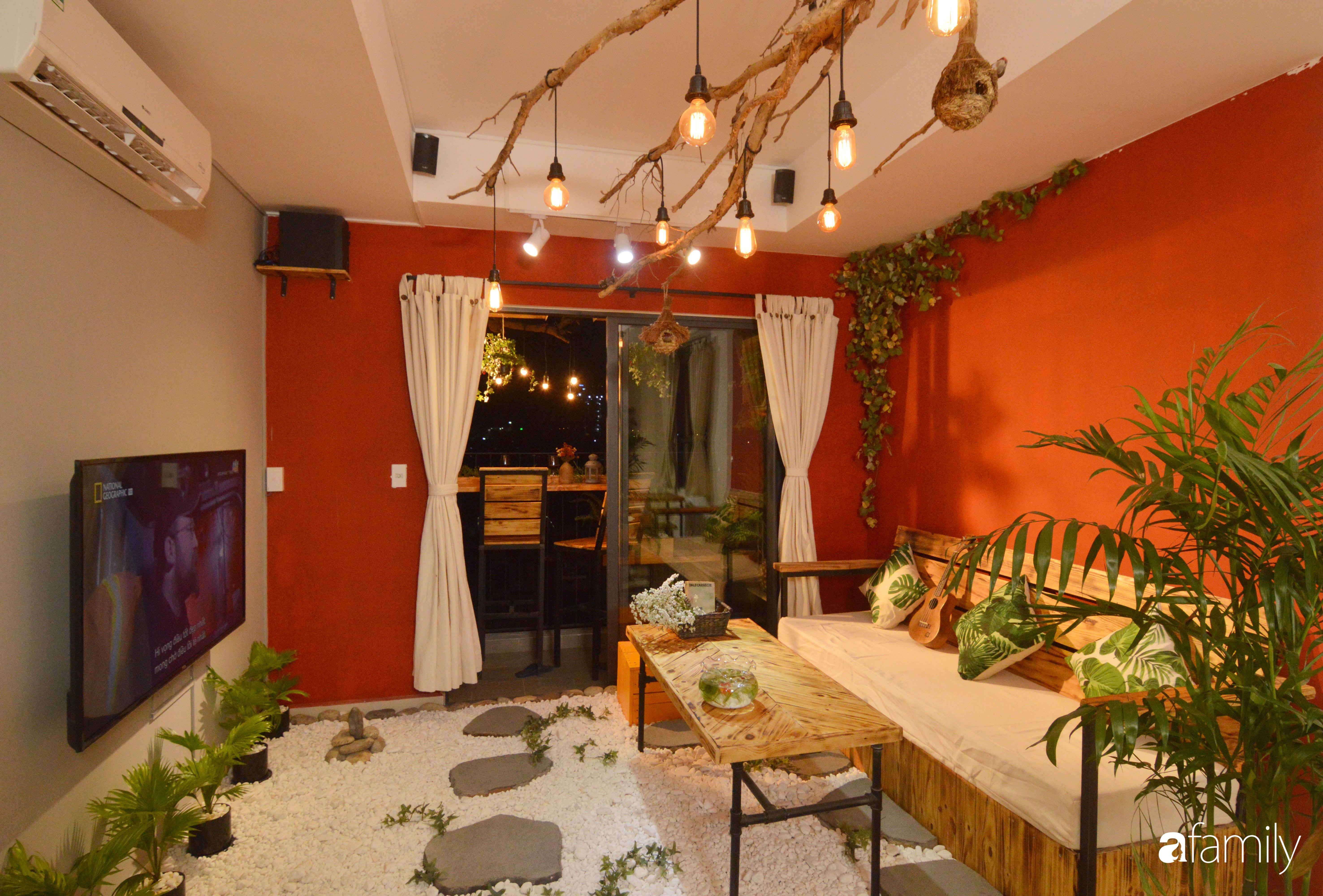 Tự phá bỏ các quy tắc décor thông thường, căn hộ Quận 7 của diễn viên Linh Sơn đẹp cá tính với điểm nhấn sắc đỏ nồng nàn - Ảnh 5.