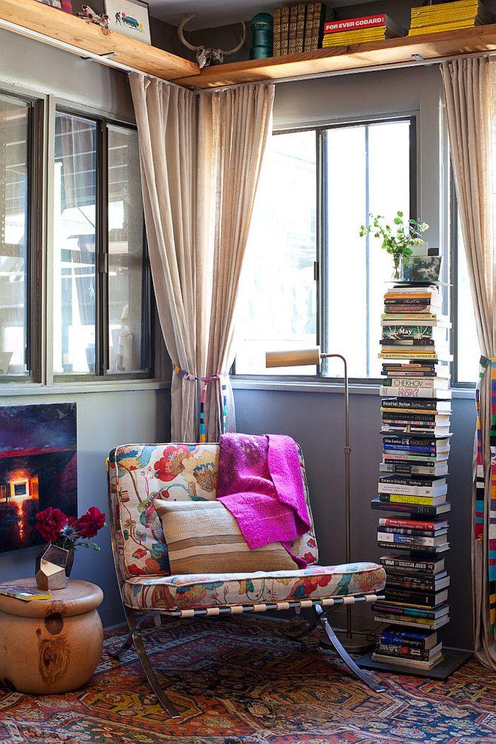 7 bước thật nhanh gọn và đơn giản để thiết kế góc đọc sách tiện lợi cho những ngày dài ở nhà - Ảnh 15.