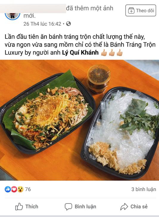 Thiếu gia nhà Lý Quí nổi tiếng đất Sài thành bất ngờ bán bánh cháng trộn, phá lầu bò nước dừa chua cay sang chảnh - Ảnh 8.