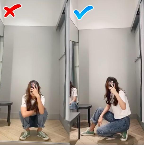 3 chiêu chụp ảnh tại phòng thử đồ sanh chảnh như hotgirl  - Ảnh 4.