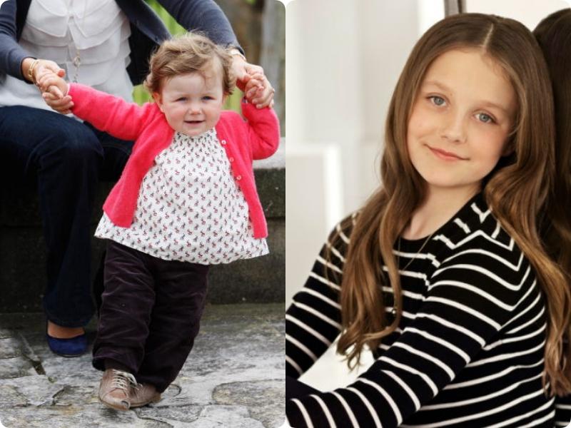 Công chúa nhỏ Hoàng gia châu Âu: Ngoảnh đi ngoảnh lại đã lớn bổng, xinh đẹp như thiếu nữ rồi! - Ảnh 8.