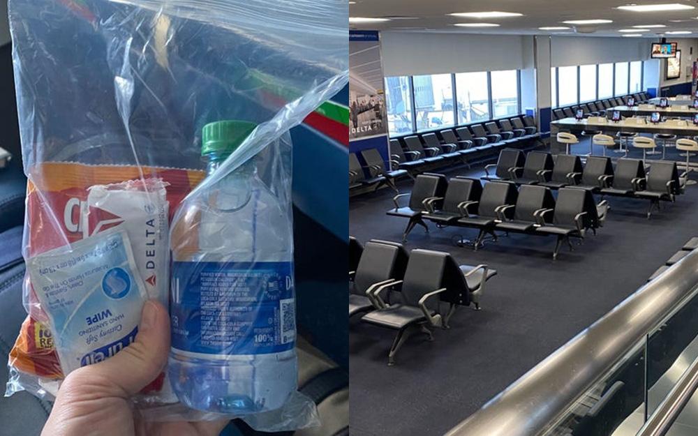 """Chuyến bay giữa mùa dịch COVID-19 đáng nhớ nhất: Trải nghiệm về sân bay vắng vẻ như """"thị trấn ma"""" và những biện pháp phòng ngừa tăng cường"""