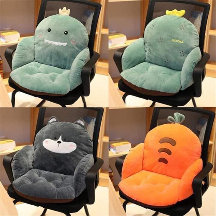 """Chị em than trời vì ngồi làm việc ở nhà dễ mỏi lưng, có ngay 4 mẫu đệm lót ghế vừa êm vừa xinh """"cứu cánh"""" đây rồi! - Ảnh 5."""