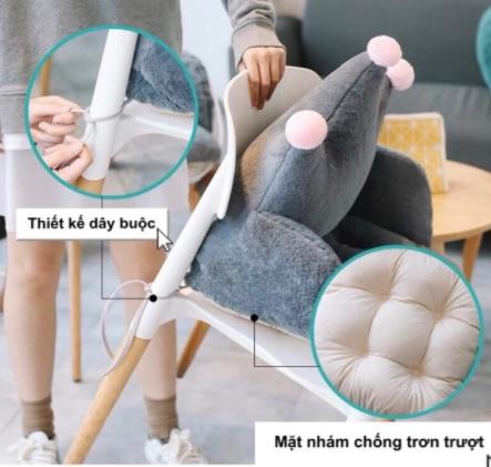 """Chị em than trời vì ngồi làm việc ở nhà dễ mỏi lưng, có ngay 4 mẫu đệm lót ghế vừa êm vừa xinh """"cứu cánh"""" đây rồi! - Ảnh 3."""