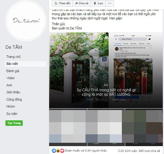 Quán cà phê nổi tiếng Hà Nội tố một quán khác đạo ý tưởng từ thiết kế đến nội dung Fanpage - Ảnh 1.