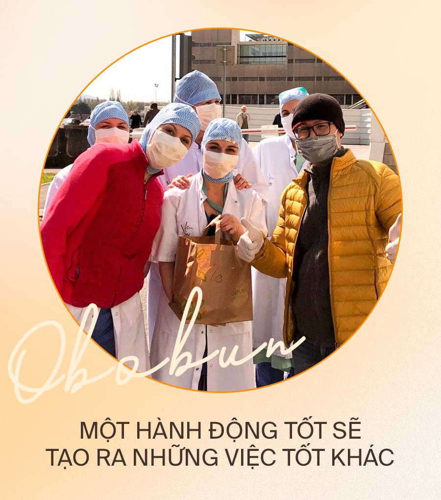 Đầu bếp người Việt nấu bún bò tiếp sức cho y bác sĩ Pháp chống dịch Covid-19: Một hành động tốt sẽ tạo ra những việc tốt khác - Ảnh 4.