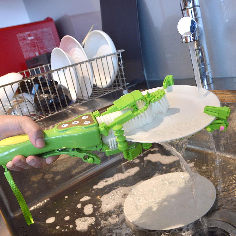 Gượng dậy rửa bát sau mỗi bữa ăn đã không còn khó nhọc với máy rửa chén bát cầm tay có giá chỉ 1,9 triệu - Ảnh 3.