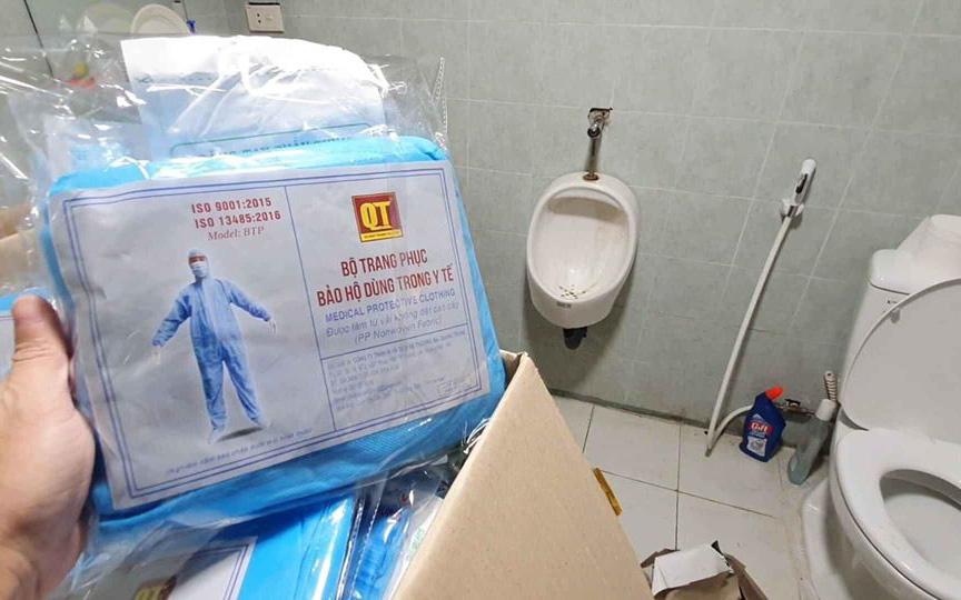 Hà Nội: Phát hiện cơ sở sản xuất vật tư y tế có dấu hiệu gian lận