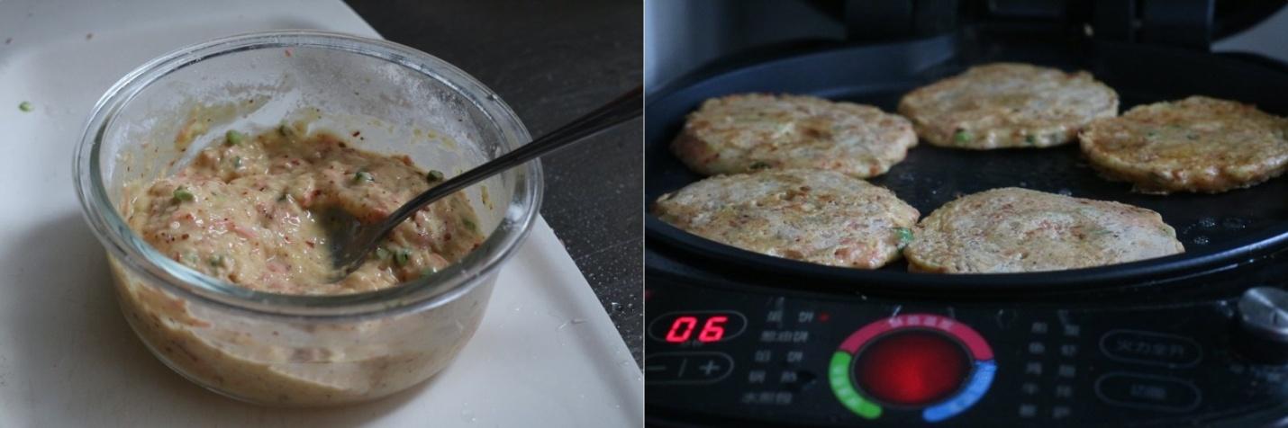Bữa sáng làm bánh khoai tây cay giòn nóng hổi cả nhà xuýt xoa ăn hết trong nháy mắt - Ảnh 3.