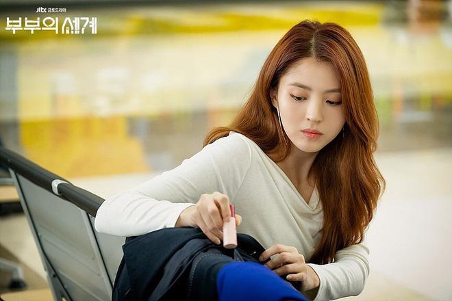 """Mang tiếng dùng chung cây son với chị đẹp Son Ye Jin nhưng cô nàng tiểu tam của """"Thế Giới Hôn Nhân"""" lại gây thất vọng bởi đôi môi khô hạn bong tróc - Ảnh 5."""